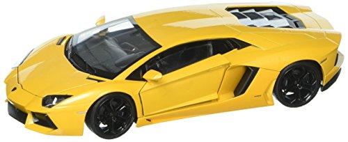 (Welly Collection 1:24 Lamborghini Aventador LP 700-4 Diecast Model Sport Car,)