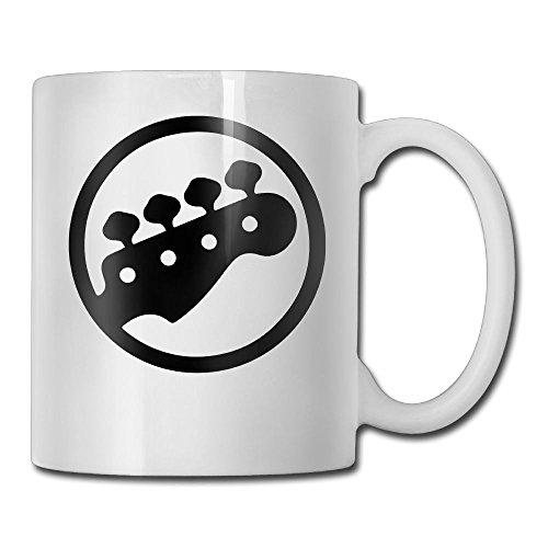 ZhiqianDF BASS TUNING PEGS Casual Style Home White Double-Sided Printed Coffee Tea Mug 11 Oz