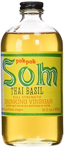 Pok Pok Som Drinking Vinegar, Thai Basil, 16 oz