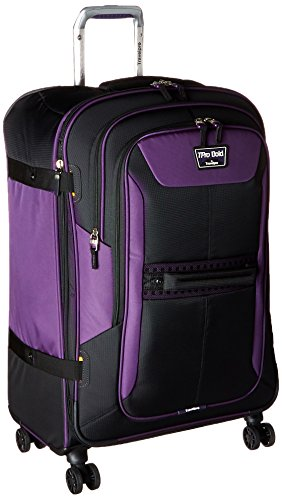 Travelpro Tpro Bold 2.0 26 Inch Expandable Spinner, Black/Purple, One Size by Travelpro