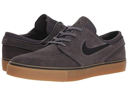 [NIKE(ナイキ)] メンズランニングシューズ?スニーカー?靴 Zoom Stefan Janoski Suede Thunder Grey/Black/Gum Light Brown 4.5 (22.5cm) D - Medium