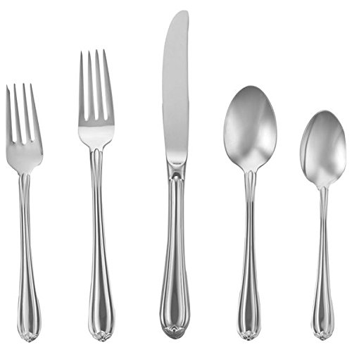Gorham 9227510 Melon Bud Flatware 5 Piece Place Set