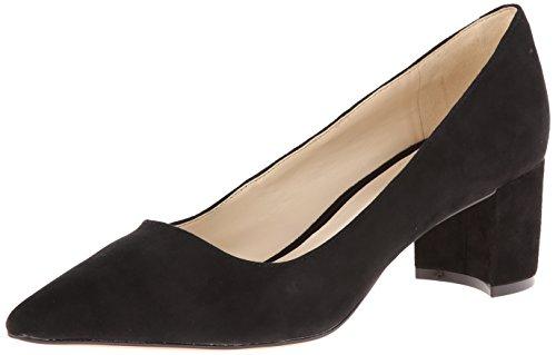 Nine West Women's IKE Suede, Black, 7 M US (Black Womens Shoes Suede)