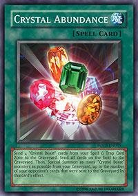 Yu-Gi-Oh! - Crystal Abundance (FOTB-EN035) - Force of the Breaker - Unlimited Edition - Common (Crystal Abundance compare prices)