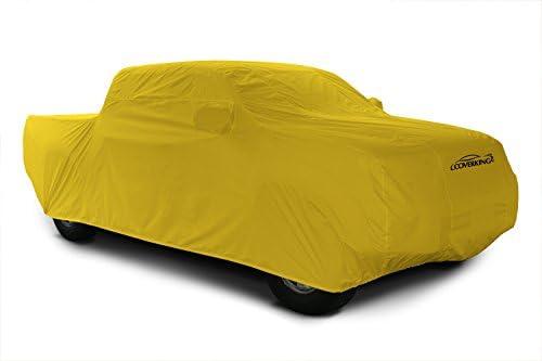 Coverkingカスタムフィット車のカバーRam 1500モデル–ストームプルーフ(イエロー)