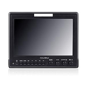 Boblov2016 Feelworld Z7 7 inch Aluminum Design HD 1280800 IPS Camera Top Field Broadcast Video Monitor Waveform,Scopes,HDMI convert to SDI