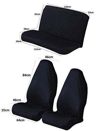 Protector de asiento delantero y trasero para Seat Marbella ...