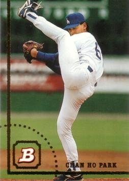 1994 Bowman Baseball #98 Chan Ho Park Rookie Card