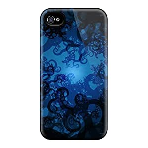 Hot Sure First Grade Tpu Phone Case For Iphone 4/4s Case Cover