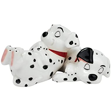 Westland Giftware Puppies Sleeping Magnetic Ceramic Salt and Pepper Shaker Set, 2-Inch
