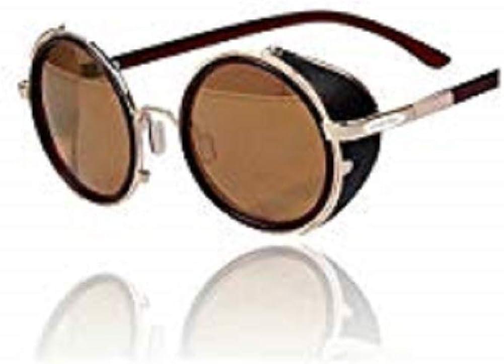 Vintage Inspired Classic Round UV400 SunGlasses Round 80/'s