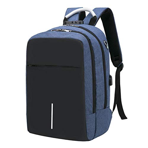 USB Charging Laptop Backpack 15.6 Inch Anti Theft Women Men School Bags for Teenage Girls College Travel Rucksack Earphone Hole