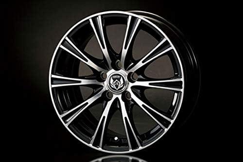 TRD アルミホイール weds RIZLEY BL 15インチ 1本 カローラアクシオ NZE161 NRE160 NRE161 NKE165 12/05~15/03 15インチホイール装着車 除く4WD車、1.8L車