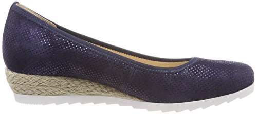 Nightblue Jute Azul Sport Comfort Shoes para Bailarinas Gabor Mujer Sqa7Tx0