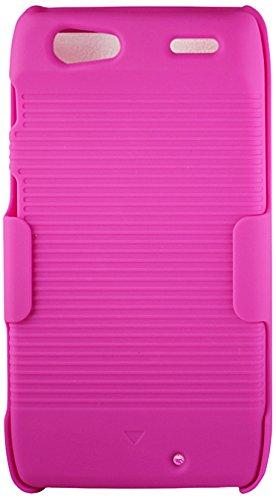 - Reiko Holster Combo Case for Motorola Razr - Retail Packaging - Pink