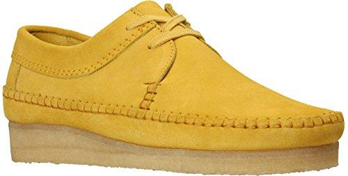 CLARKS - Mens Weaver Shoe, Size: 9.5 D(M) US, Color: Yellow ()