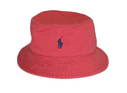 Polo-Ralph-Lauren-Mens-Chino-Bucket-Floppy-Hat-Nantucket-Red