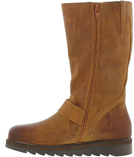 Oak Calf amp; Tan Hyde Mid Leather Boots Mid Coast Womens Mel Ow7RqCrOx