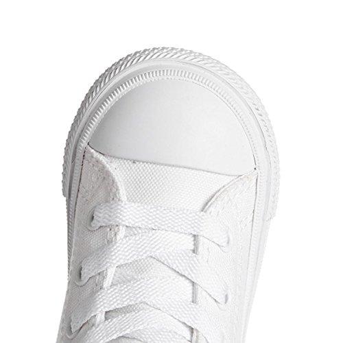 Converse Inf All Star II Hi Lona Adolescente-Unisex White