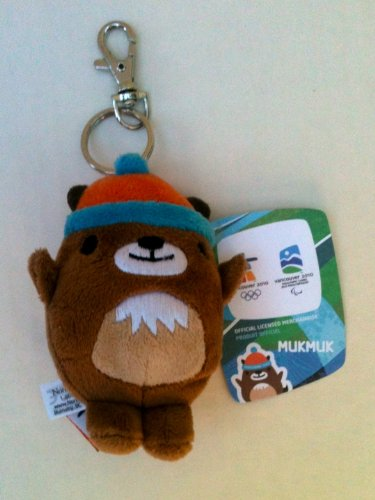 (COLLECTIBLE -- MUKMUK 4.5 inch keychain mascot of the 2010 Vancouver Winter Olympics )