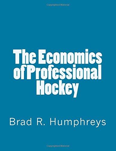 The Economics of Professional Hockey
