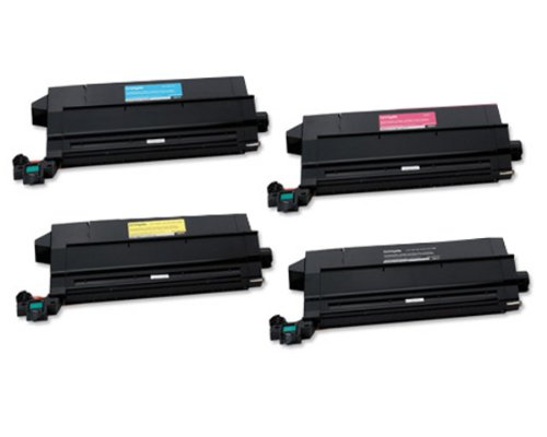 Lexmark C912 OEM Toner Cartridge Set - Black. Cyan. Magenta. Yellow