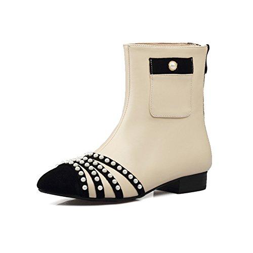 Nine SevenAnkle Boots - Botas mujer albaricoque