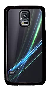 Samsung S5 case silicone Fancy Lines PC Black Custom Samsung Galaxy S5 Case Cover