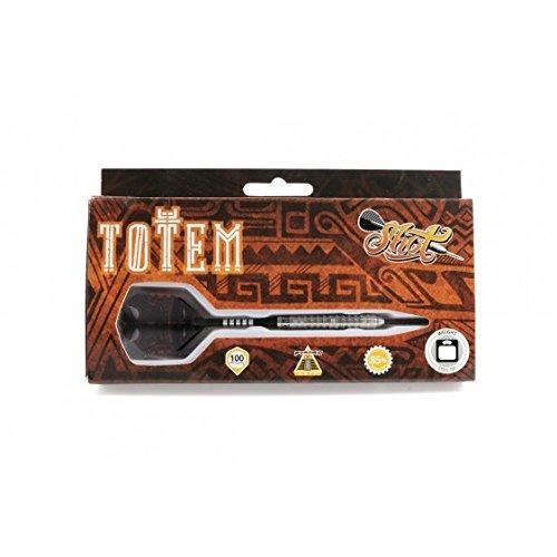 Steel Tip Dart by Shot Darts-Totem Steel Tip Dart-Front Weighted 25gm-85%  Tungsten Barrel