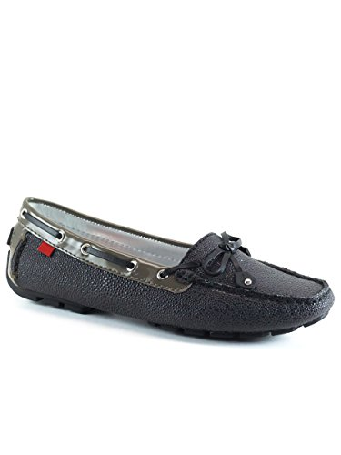 Marc Joseph New York Women's Cypress Hill Driving Style Loafer, Black