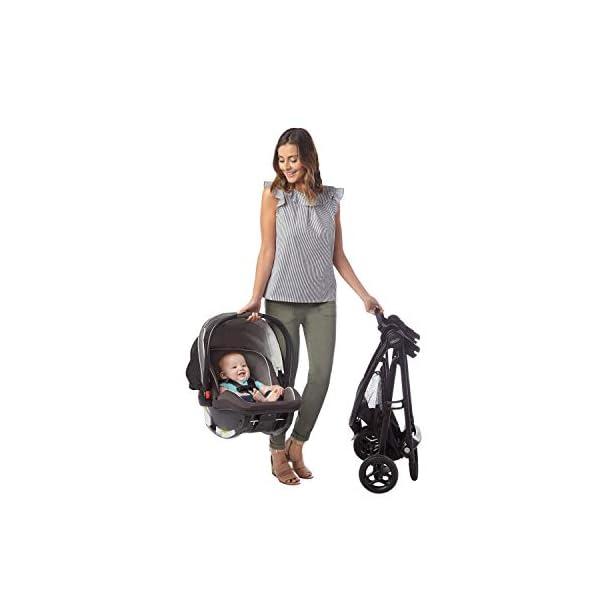 Graco SnugRider 3 Elite Car Seat Carrier   Lightweight Frame Stroller   Travel Stroller Accepts Any Graco Infant Car Seat