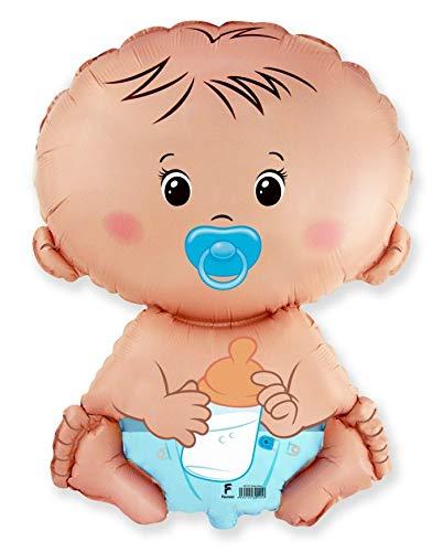 MONKEYDOG PARTY New Balloon Baby BOY Shape Gender Reveal Diaper 27