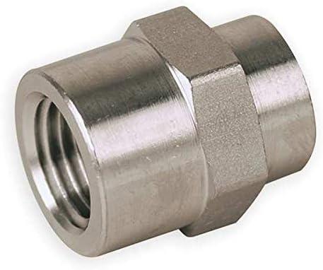 1//2 in Carbon Steel FNPT Hex Coupling
