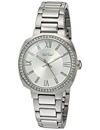 CARAVELLE NEW YORK Womens 43L195 Dress White Dial Watch
