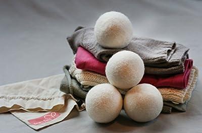 Heart Felt Dryer Ball 4 Pack and Lavender Oil Gift Pack
