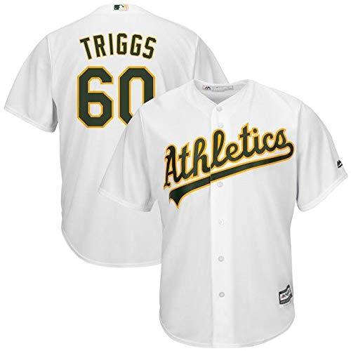 Majestic Majestic Andrew Oakland Triggs Majestic Oakland Base Athletics White Home Cool Base Jersey スポーツ用品【並行輸入品】 XXX-Large B07HX6RP3P, 世羅郡:f87ad65d --- cgt-tbc.fr