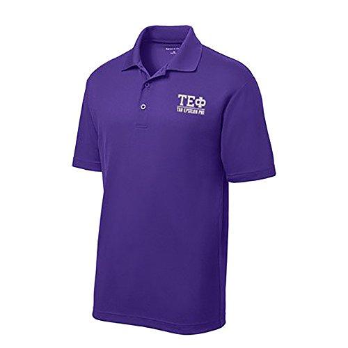 (Tau Epsilon Phi Greek Letter Polo's Large Purple)