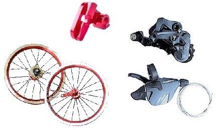 14インチ 自転車3段変速化キット11-13-15 B077T5NL7Q