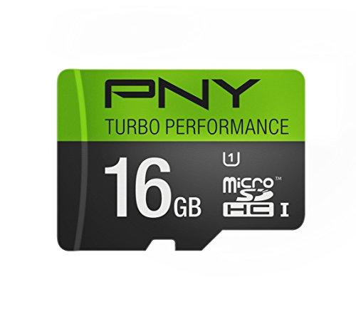 PNY Turbo Performance 16GB High Speed MicroSDHC Class 10 UHS
