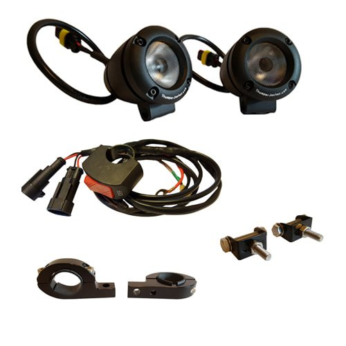 o 3000 LED Head Light Kit For Machines with Electric Start (Enduro Machine)