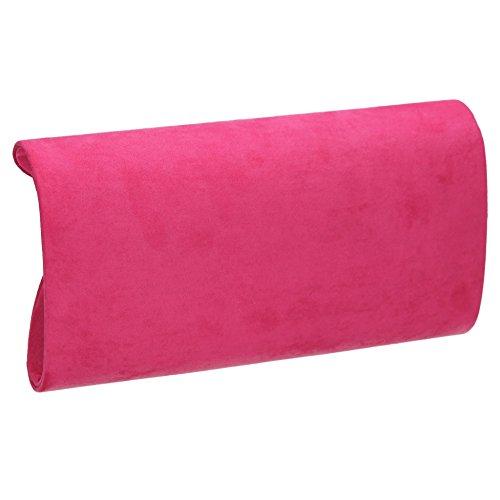 Suedette Clutch Blue Womens Royal Bag Karlie Pink SWANKYSWANS 6qU1p8n