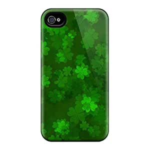 High Quality Hard Phone Case For Iphone 4/4s (GxD15862snOZ) Custom Trendy Green Day Skin