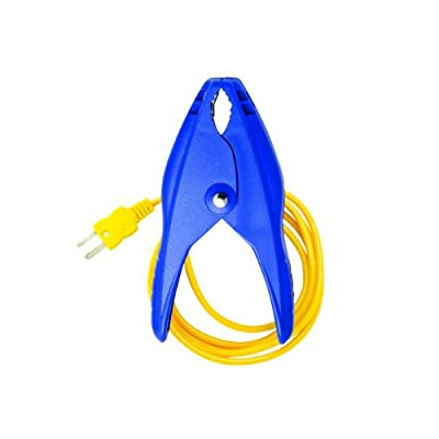 Fieldpiece ATC1 Pipe-Clamp Thermocouple 3/8-Inch to 1 3/8-Inch for Air Conditioning from Standard Plumbing Supply
