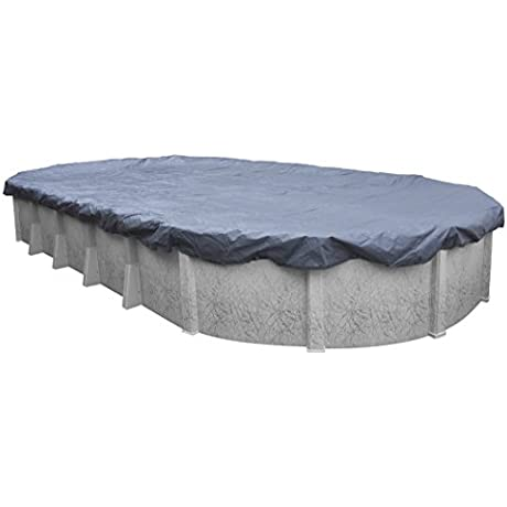 Robelle 461218 Value Line Winter Cover For 12 By 18 Foot Oval Above Ground Pools