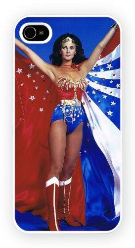 Wonder Woman Lynda Carter, iPhone 4 4S, Etui de téléphone mobile - encre brillant impression