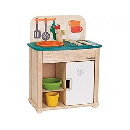 amazon com plan toys activity 2 piece sink and fridge play set rh amazon com