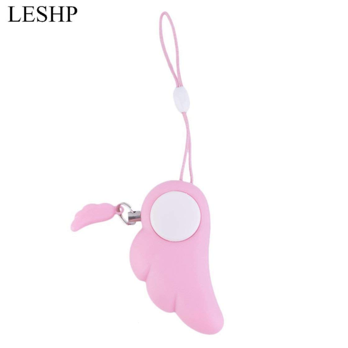 Cute Angel Wing Personal Safety Anti Rape Attack Alarm Panic Protection Tool Kids Children Self Defense Supplies Gwendoll