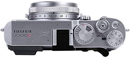 JJC metallo pollice alzato Impugnatura Supporto Coperchio del contatto caldo per Fujifilm X-Pro3 X-Pro2