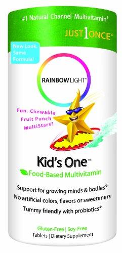 Un Multistars de Rainbow Kids légers, 30 comprimés à croquer