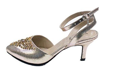pour Doré Wear femme amp; Walk UK Sandales YwYqIaO4